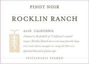 Rocklin Ranch California Pinot Noir
