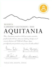 Load image into Gallery viewer, Aquitania Maipo Valley Cabernet Sauvignon
