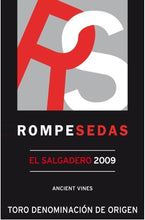 Load image into Gallery viewer, Rompesedas El Salgadero Ancient Vines Toro