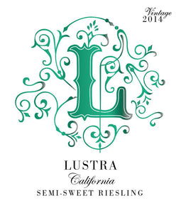 Lustra Semi-Sweet California Riesling