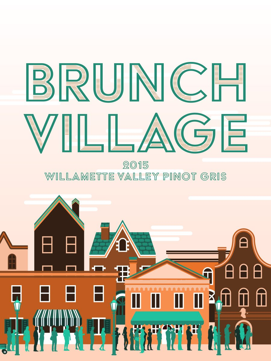 Brunch Village Willamette Valley Pinot Gris (Portlandia)