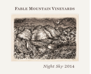 Fable Mountain Vineyards Night Sky South African Red Blend