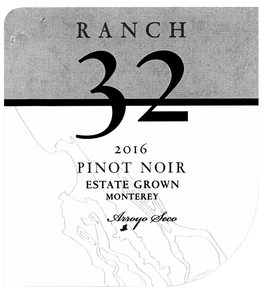Ranch 32 Estate Grown Monterey Pinot Noir