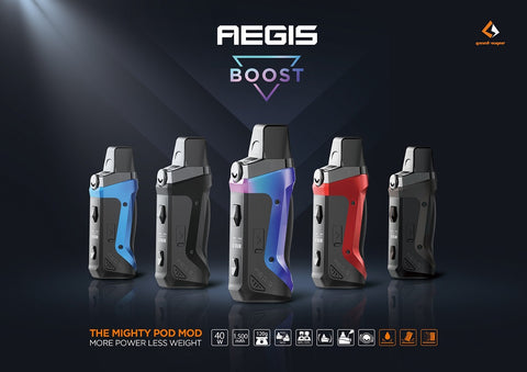 Geek Vape Aegis Boost Kit - Cape's Vapes