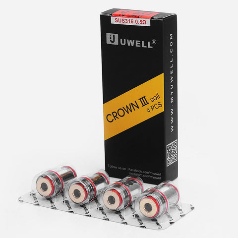 Uwell Crown 3 SUS316L 0.5 Ohm Coils