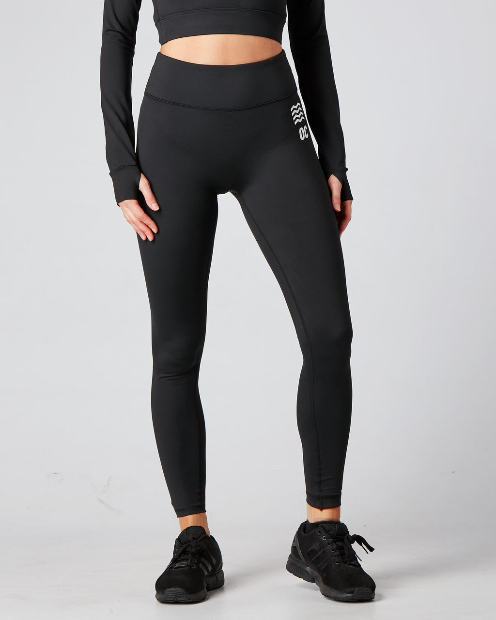 OC Eco Seamless Black Leggings