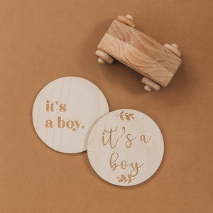 Gender Disc // It's a boy