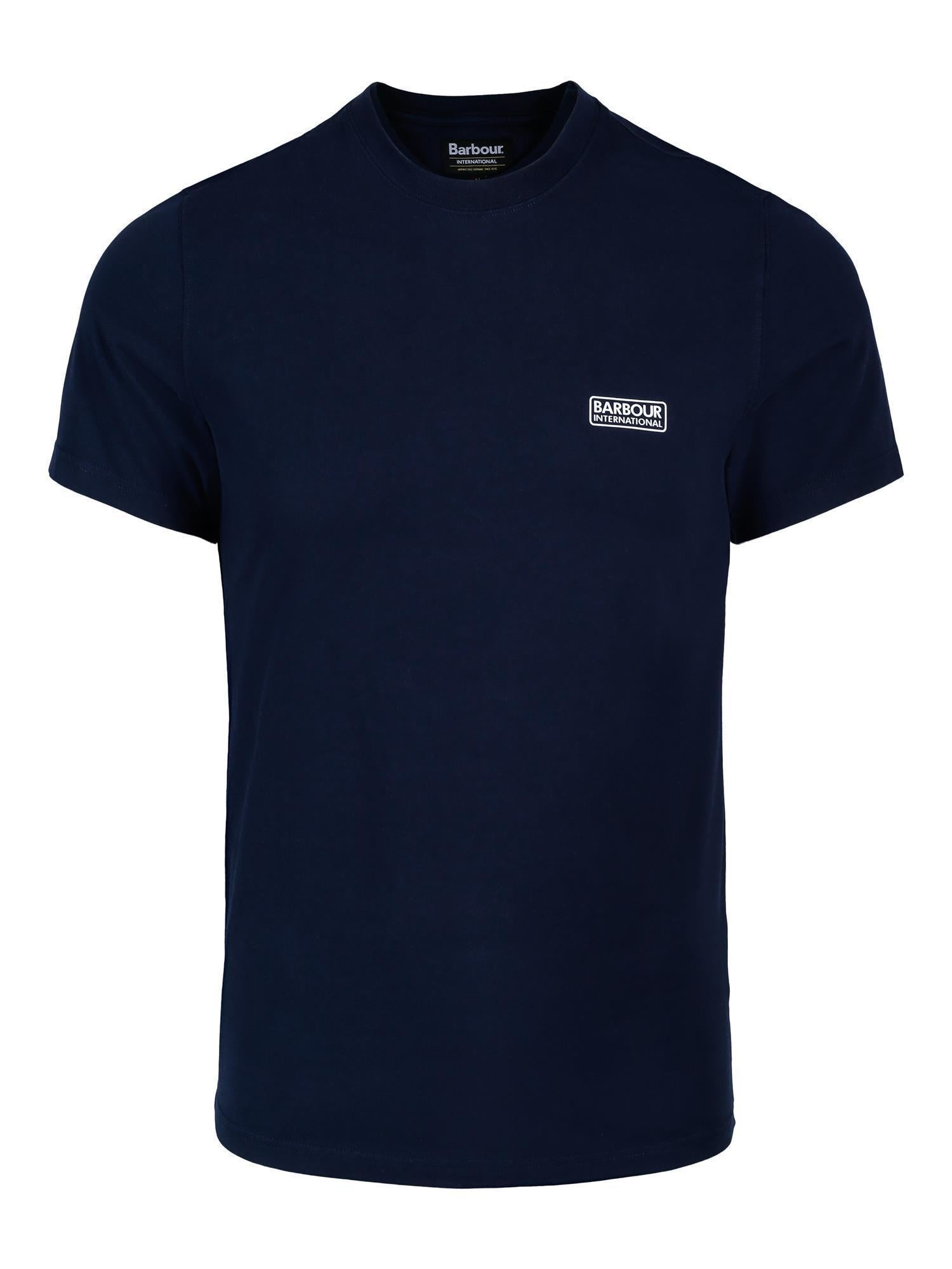 Barbour Small Logo Tee-Barbour-www.gunnaroye.no