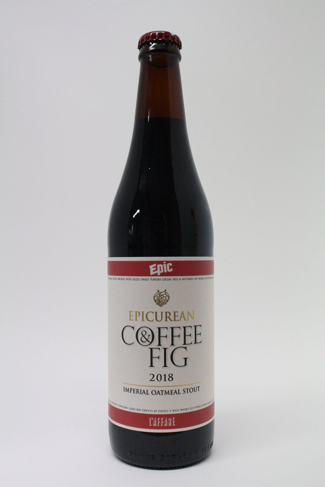 EPIC - Epicurean Coffee and Fig Oatmeal Stout 18 500ml