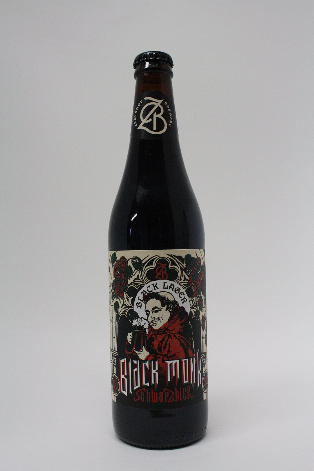 Zeelandt - Black Monk Black Lager 500ml