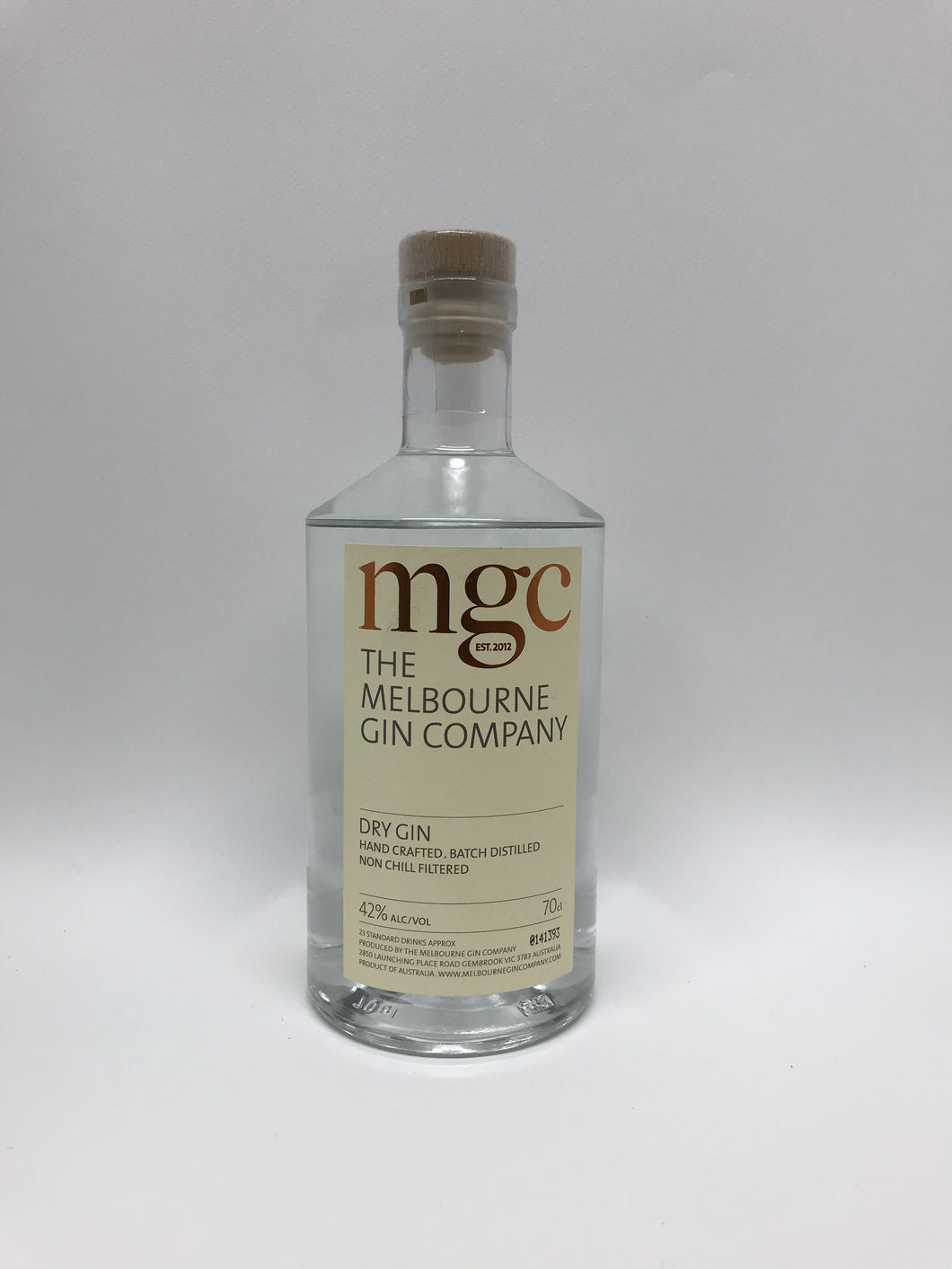 The Melbourne Gin Company (MGC) - Hand Crafted Dry Gin 700ml