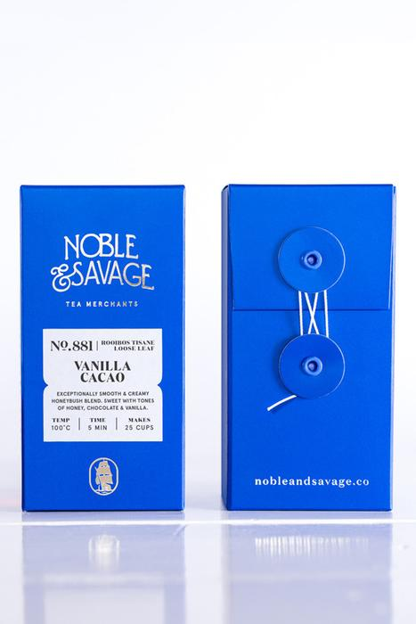Noble & Savage - Vanilla Cocoa loose leaf tea