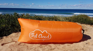 Fat Cloud - Orange FREE POSTAGE