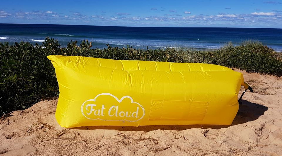 Fat Cloud - Yellow FREE POSTAGE