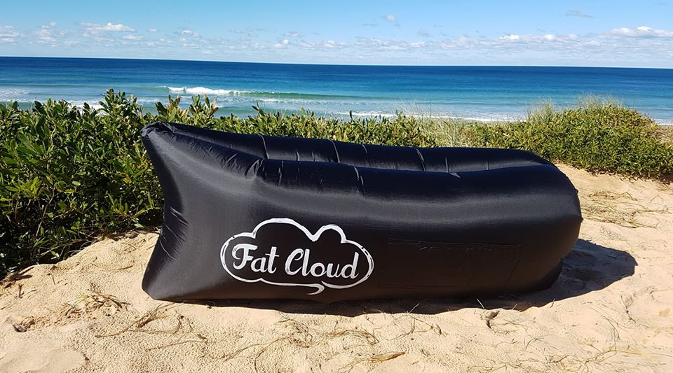 Fat Cloud - Black FREE POSTAGE