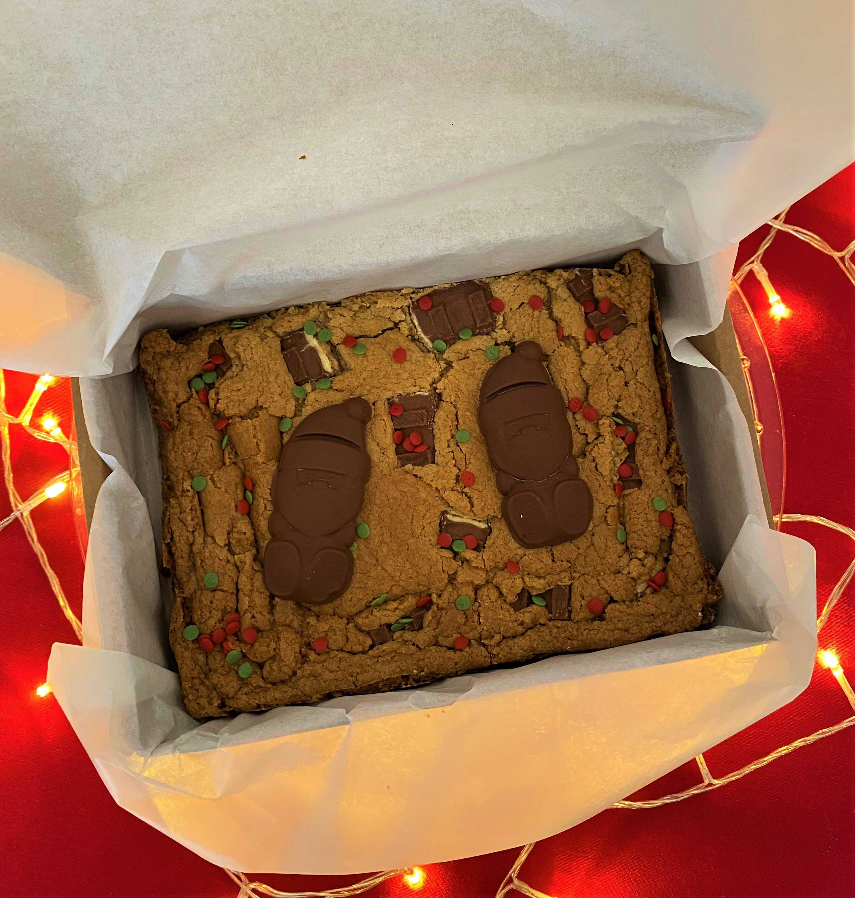 Christmas Kinder Cookie Slab - Posted Wednesday 9th December