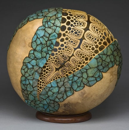Gourd Artwork by Mark Doolittle