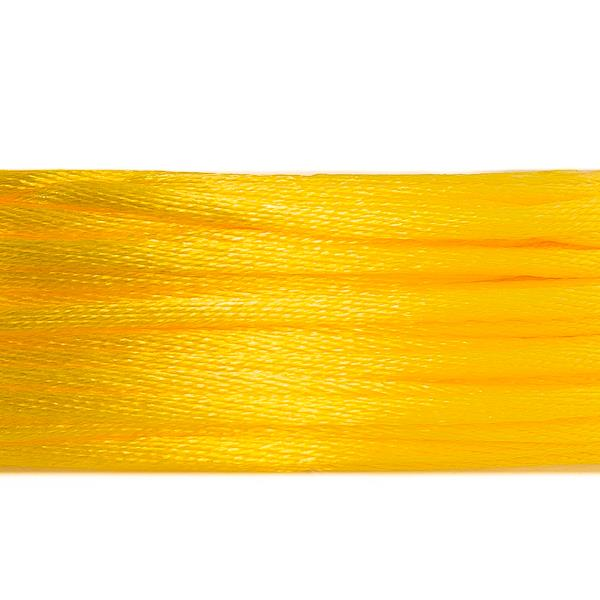 1.5mm Yellow Rattail Cord 20yd