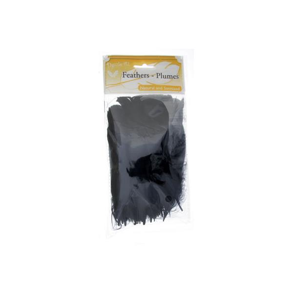 Goose Feathers Black 6g