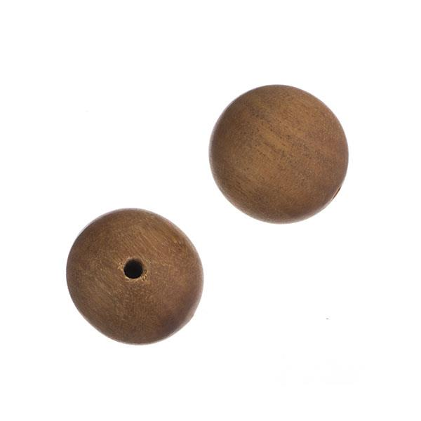 6mm Light Brown Sandalwood Beads 34/Strand