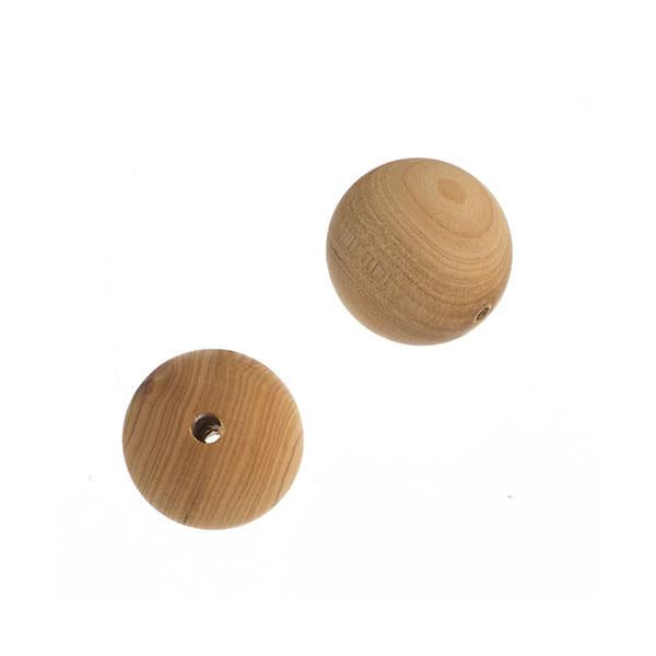 6mm Natural Cedar Wood Beads 34/Strand