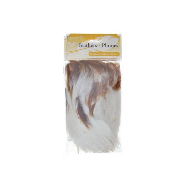 Marabou Feathers Two Tone Brown 6g