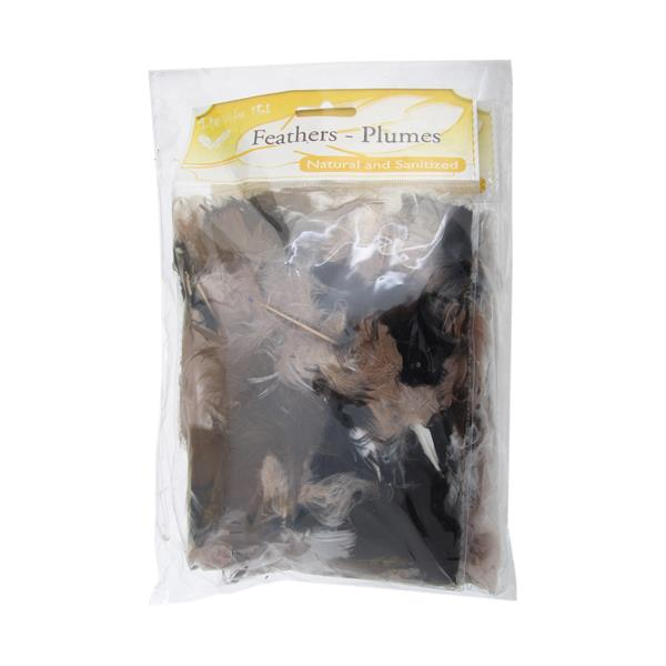 Plume Feathers Natural Mixed 20g