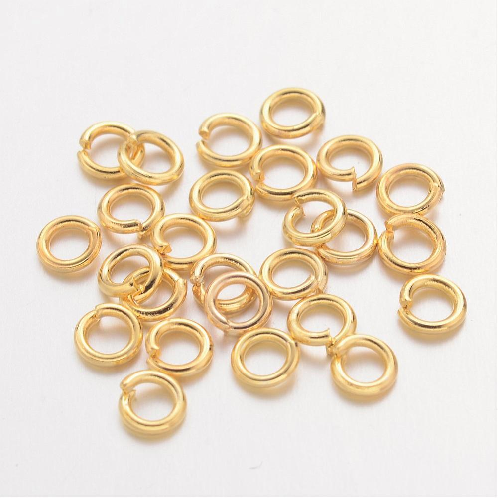4mm Gold Jump Rings 100 Grams