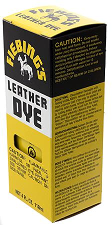 Fiebing's Leather Dye 4oz Tan