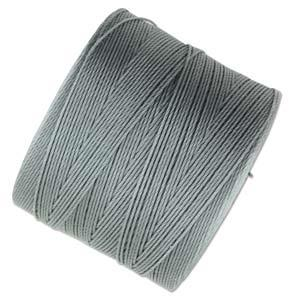 .12mm Grey S-Lon Micro Bead Cord 287yd Spool