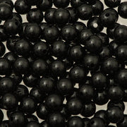 8mm Round Plastic Beads 1000/pk - Black