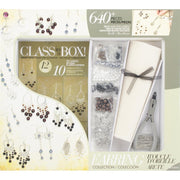 Jewelry Class In a Box - Silver/Gunmetal Earring Collection