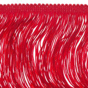 14 inch Dark Red Chainette Fringe by the yard - i-Bead,  FRINGE