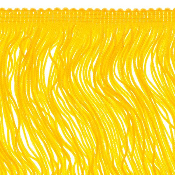 14 inch Goldenrod Chainette Fringe by the yard