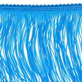 14 inch Turquoise Chainette Fringe by the yard - i-Bead,  FRINGE