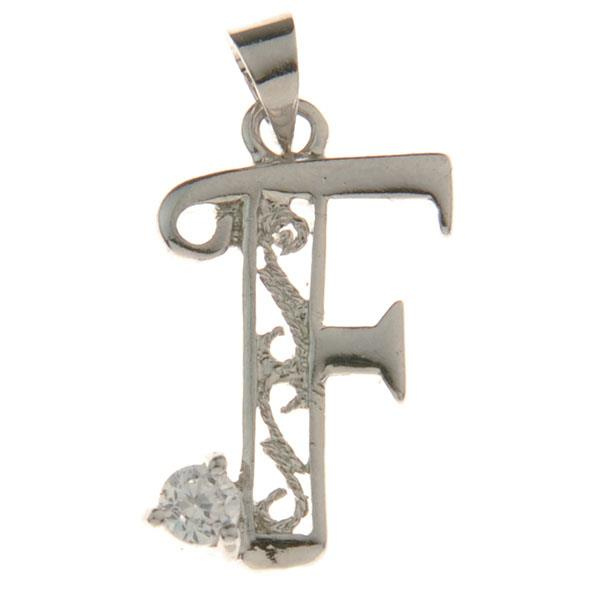 "Letter ""F"" Charm"