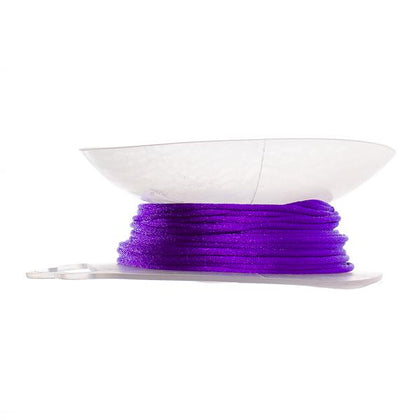 1.5mm Dark Purple Rattail Cord 20yd