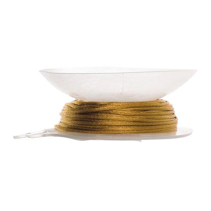 1.5mm Gold Bronze Rattail Cord 20yd