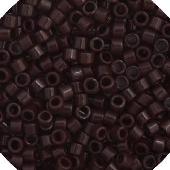 11/0 Japanese Delica Beads Op Chocolate Brown 5.2g