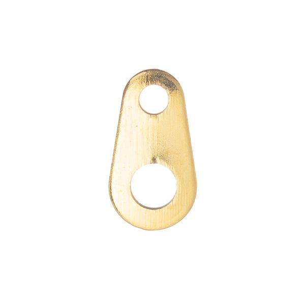 Gold Chain End Tabs 50/pk