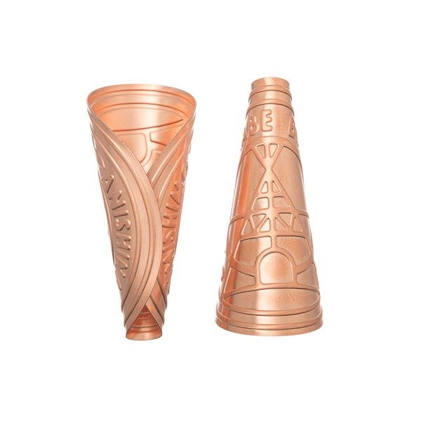 Copper Anishinaabe Jingle Cones, Child Size 100/pk