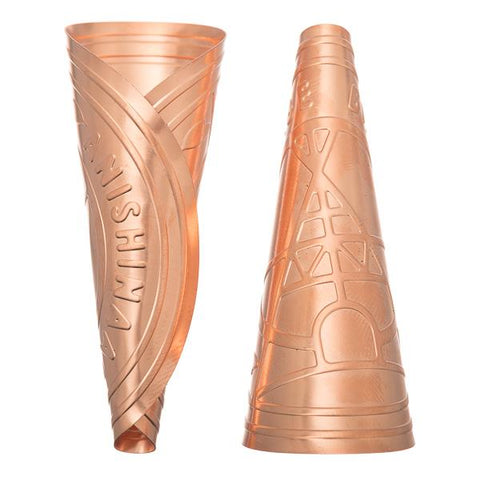 Copper Authentic Anishinaabe Jingle Cones, Adult Size 100/pk