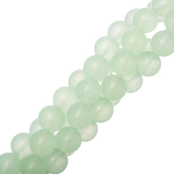 "10mm Jade Malaysia (Natural/Dyed) Beads 15-16"" Strand"