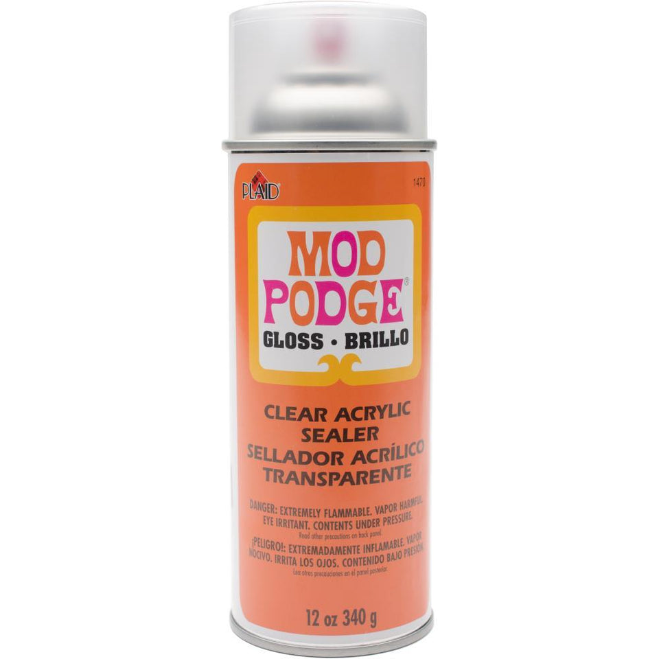 Mod Podge Clear Acrylic Aerosol Sealer 12oz