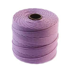 .4mm Light Orchid S-Lon Fine Bead Cord 118yd Spool
