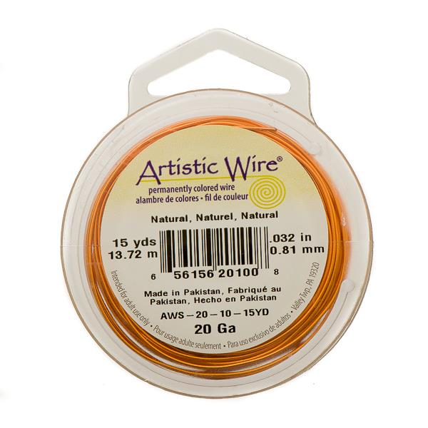 20g Artistic Wire Natural Copper 15yd