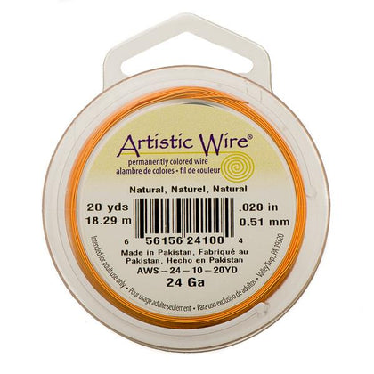 24g Artistic Wire Natural Copper 20yd