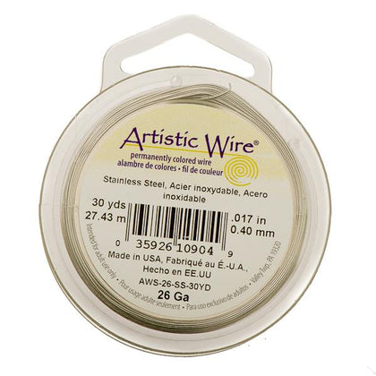 26g Artistic Wire Stainless Steel 30yd