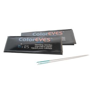 #11 ColorEyes Beading Needles 25/pk