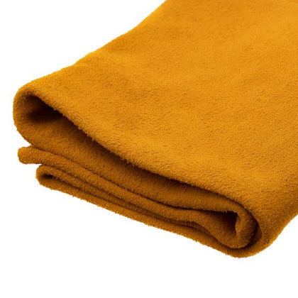 Gold Moosehide Suede by the Square Foot